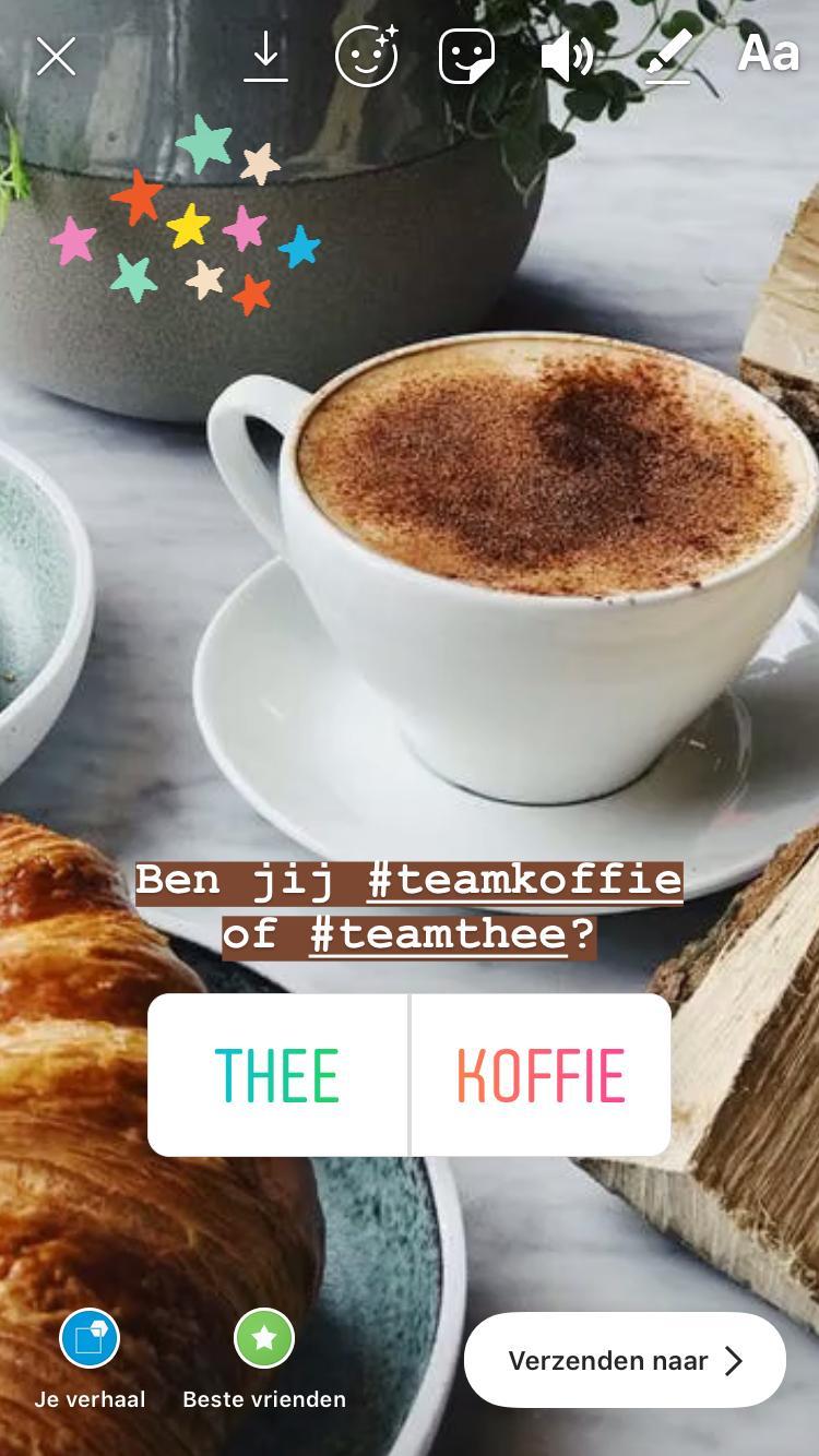 Poll - Instagram - Putten - Koffie - Nieuwe Stijl